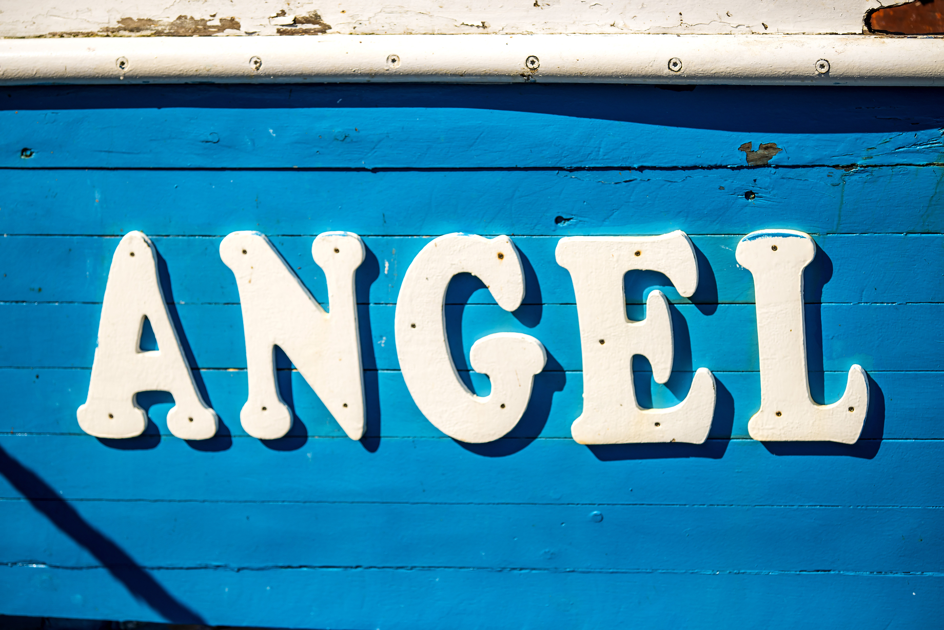 Angel the name of a boat
