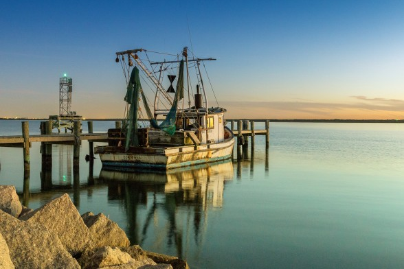 For those who work on Shrimp boats in the Bay and for pleasure boaters across the state of Texas, the Third Coast along the Gulf of Mexico provides some incredible sunset views.