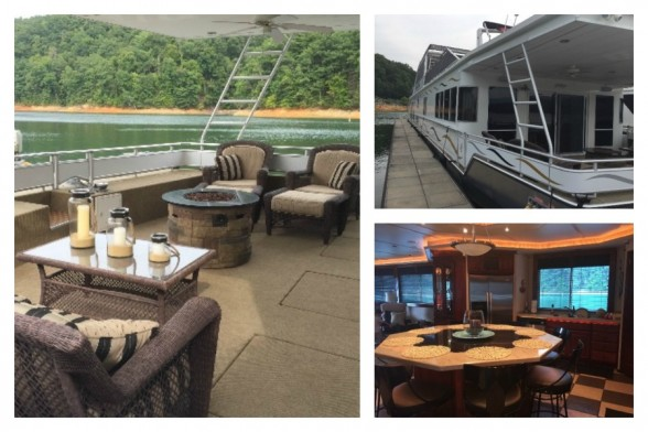 A 105' used 2008 Fantasy Houseboat for sale on Boat Trader with 4 staterooms and 2 master suites.