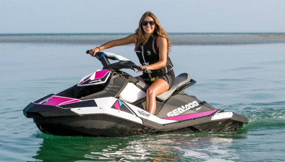 Sea-Doo led the way in the PWC market with their Intelligent Brake and Reverse system.