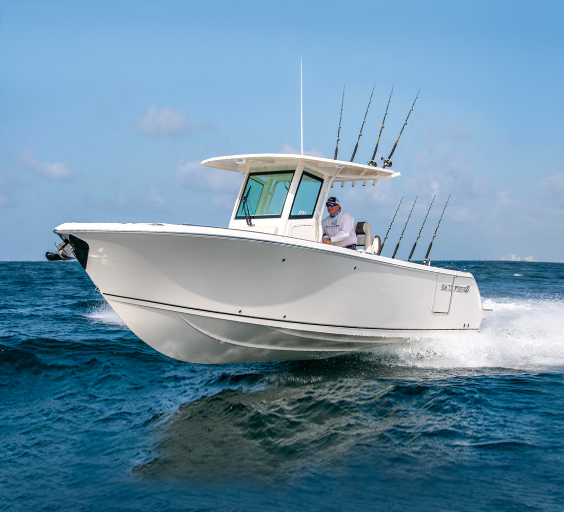 2021 Sailfish 272 CC Center Console Boat