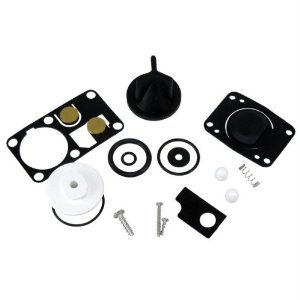 Marine head parts kits come with a variety of parts you might need to make a repair. Inspecting and replacing worn or leaky parts once a year is a great way to prevent failures during the season.