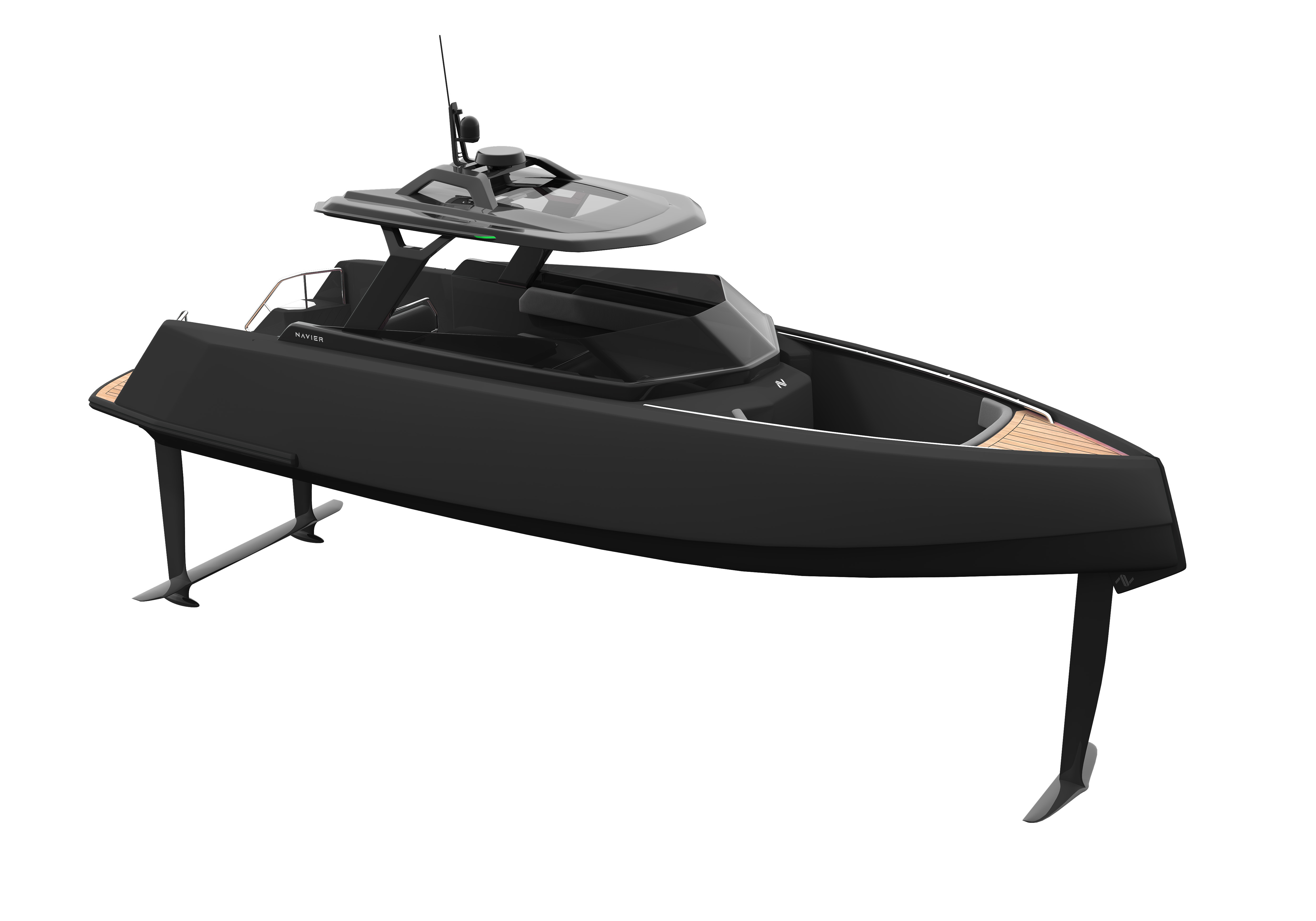 The Navier 27 electric boat