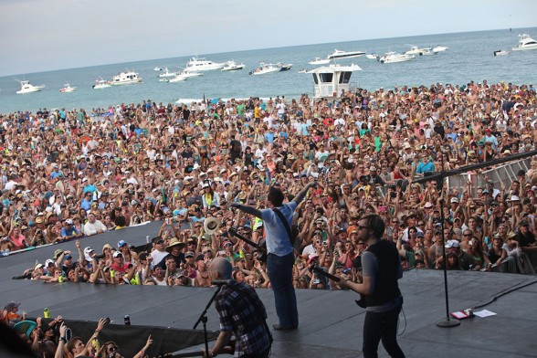 Whether you're grooving sand or happily sipping a cold one on your yacht along the shorelines, the Tortuga Music Festival gives you a chance to listen to some of the best sounds from country, rock and roots music.