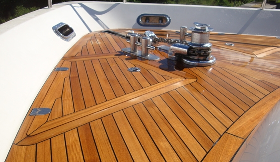 A Of Coats Teak Oil Makes This Deck Shine But Without
