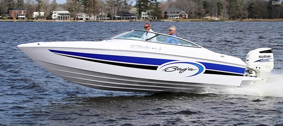 Outboard power means the Baja 23 Islander OB has more room than comparable inboard runabouts. Photo courtesy of Baja