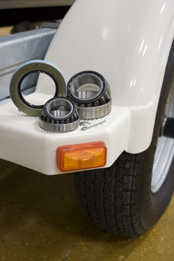 Wheel bearings need regular inspection and servicing — and occasional replacement.