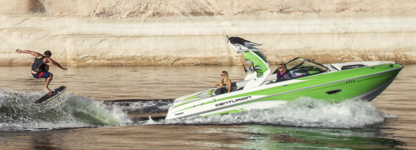 The Centurion Ri217's ethos is all about making great wakes for your riders and providing a comfortable interior for your guests. Centurion photo.