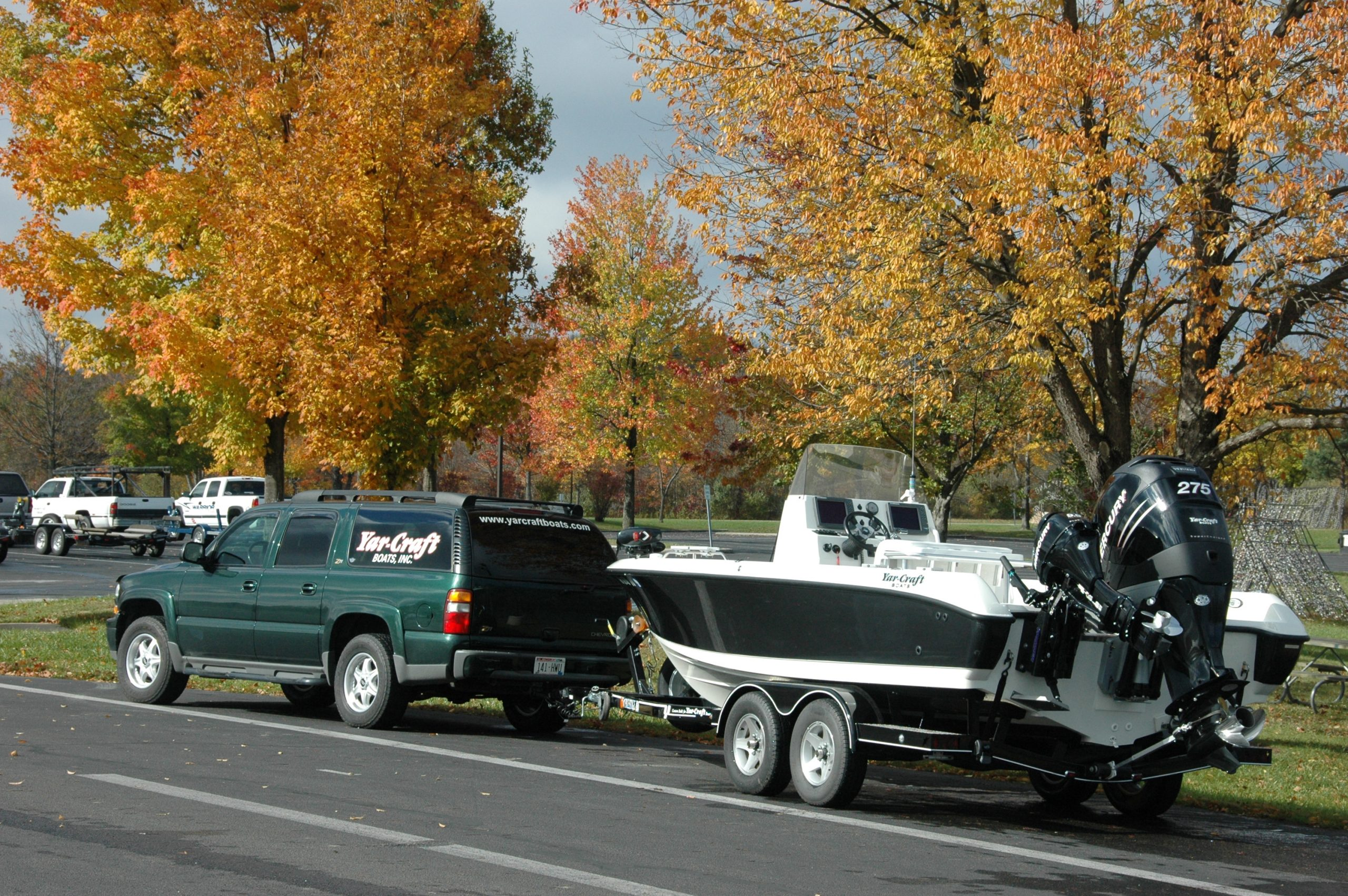 Fall Boat Launch: Keep Your Battery Charged