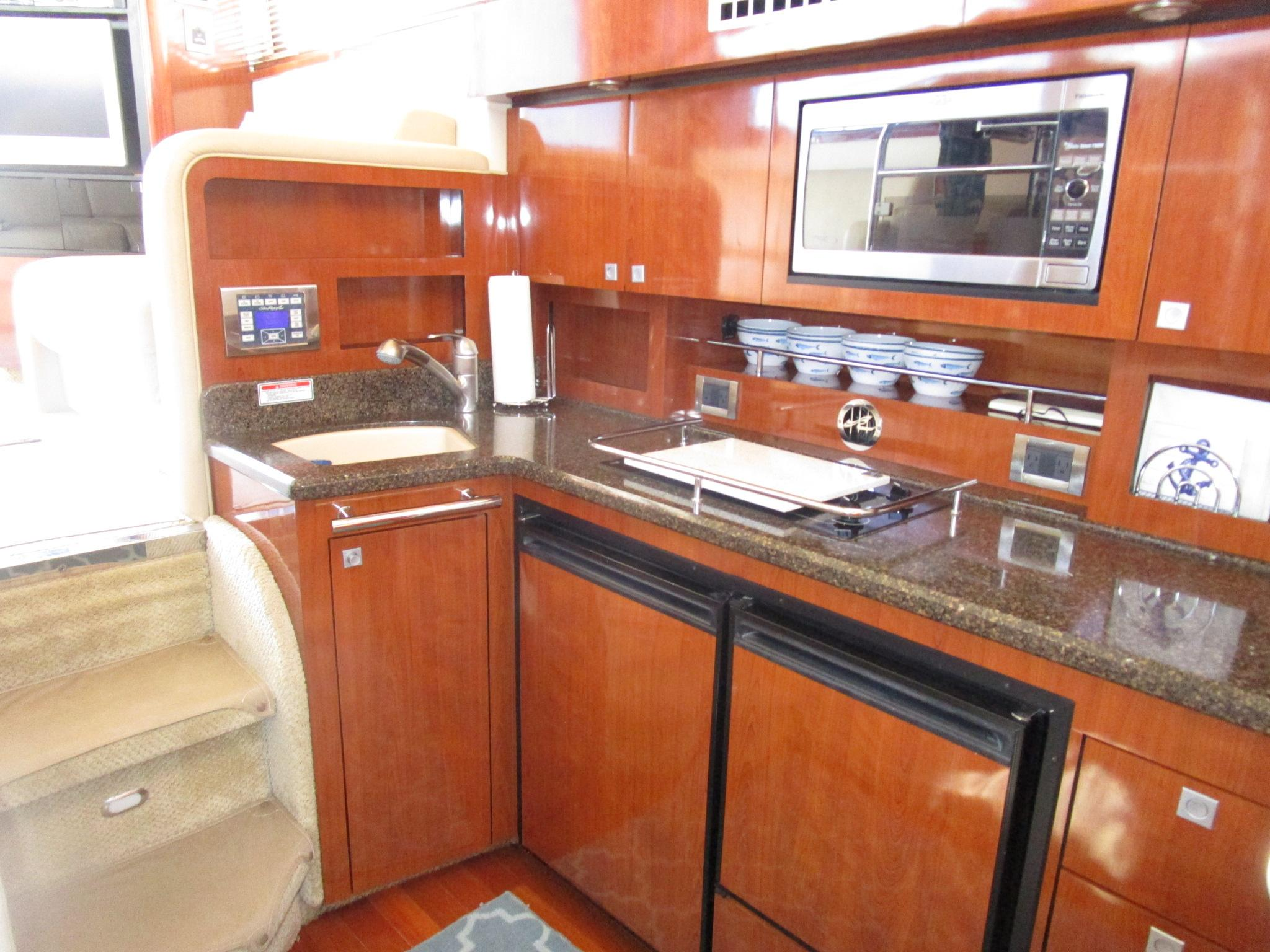 Galley on 2021 Boston Whaler 405 Conquest
