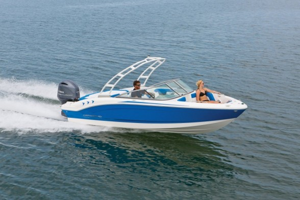 This Chaparral model is a smaller outboard-powered runabout that packs a big punch.