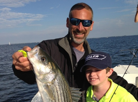 Fishing with family and friends is a great way to make the most of a day on the water. The good news is that getting started is relatively easy. Photo courtesy of Lenny Rudow.
