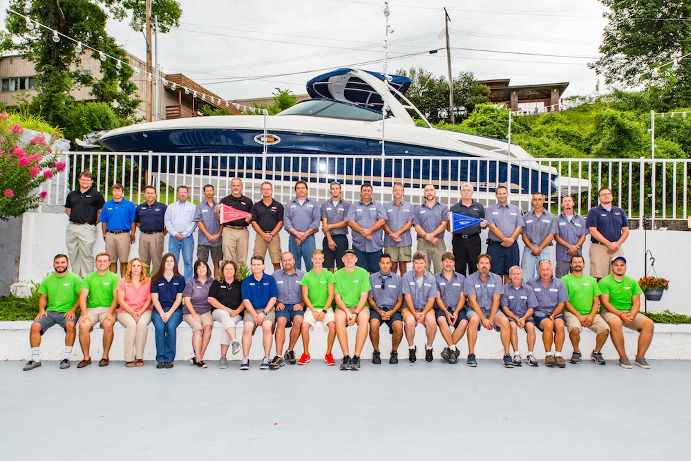 The MarineMax staff at Lakes of the Ozarks is one of several MarineMax teams focused on simplifying everything possible for customers.