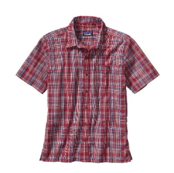 This lightweight shirt from Patagonia is designed to wick sweat away from your body, helping to keep you cool. Photo courtesy of Patagonia.