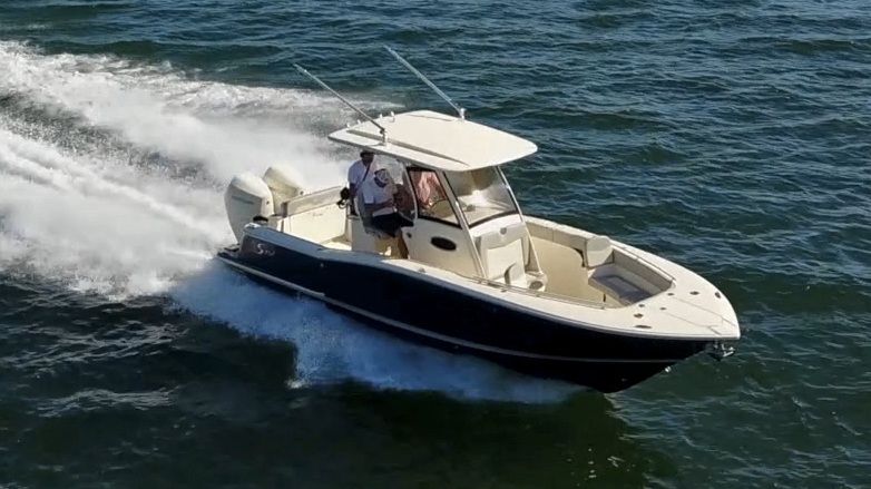 Scout 277 LXF Center Console