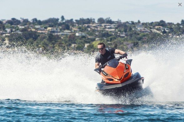 Jet Skis are probably the best known brand of PWC