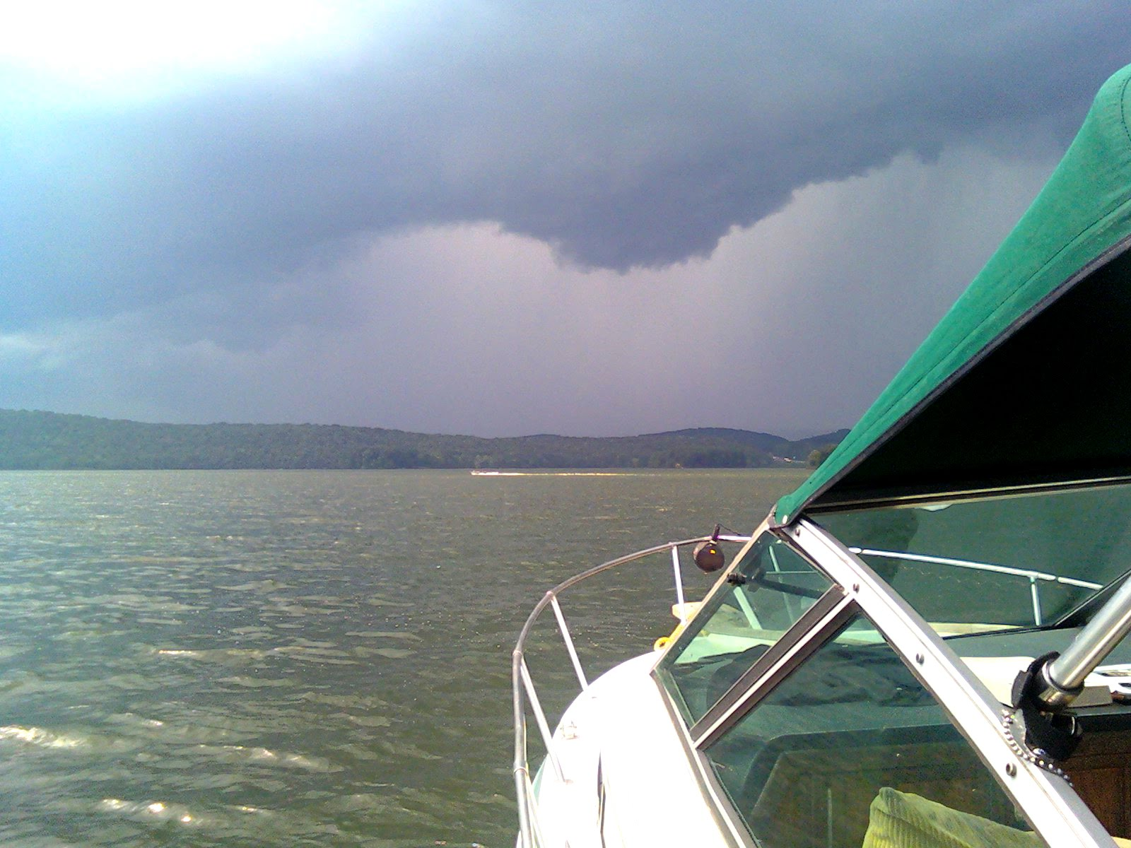 Rough weather can pop up quickly. Using your own understanding of clouds along with local forecasts from the pros will keep you safer on the water.