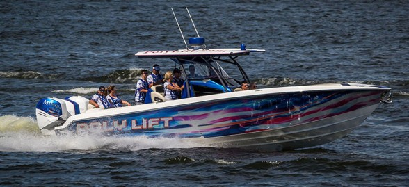 The Support Our Troops Poker Run is annual happening on the Lake of the Ozarks. Photo by Brad Glidewell/Glidewell Photography.