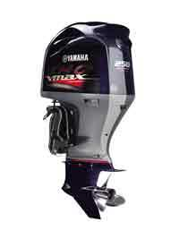 Outboards are easy to replace, and new models like this Yamaha VMAX are quiet and environmentally friendly.