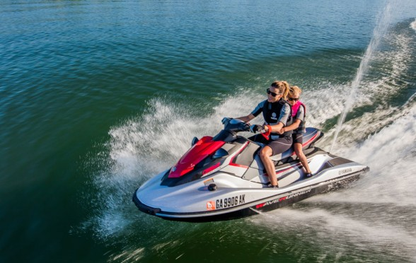Yamaha's TR-1 powerplant in the EX line of personal watercraft