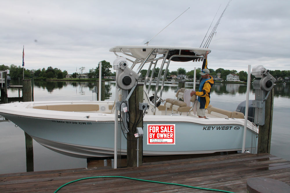 Buying a used boat saves you considerable money.