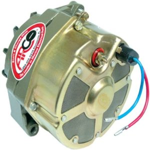 Any original or replacement alternator for a marine engine is required to have ignition protection.