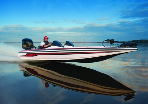 The Skeeter FX 20 and a Yamaha VMAX SHO: a match made in boat-building heaven.