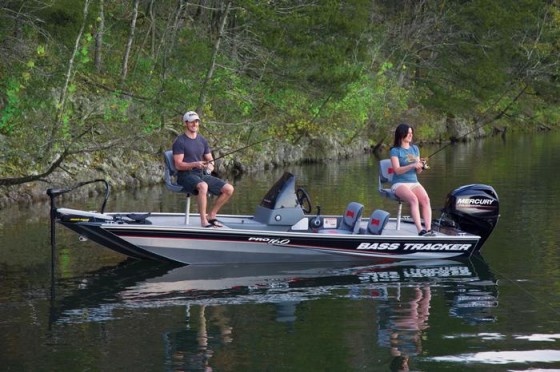 The Tracker Pro 160 is a good bet for budget-minded anglers.