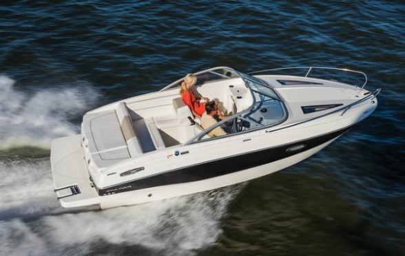 The Bayliner 642 Cuddy packs a lot of value in a clever, good-looking package. Photo courtesy of Bayliner