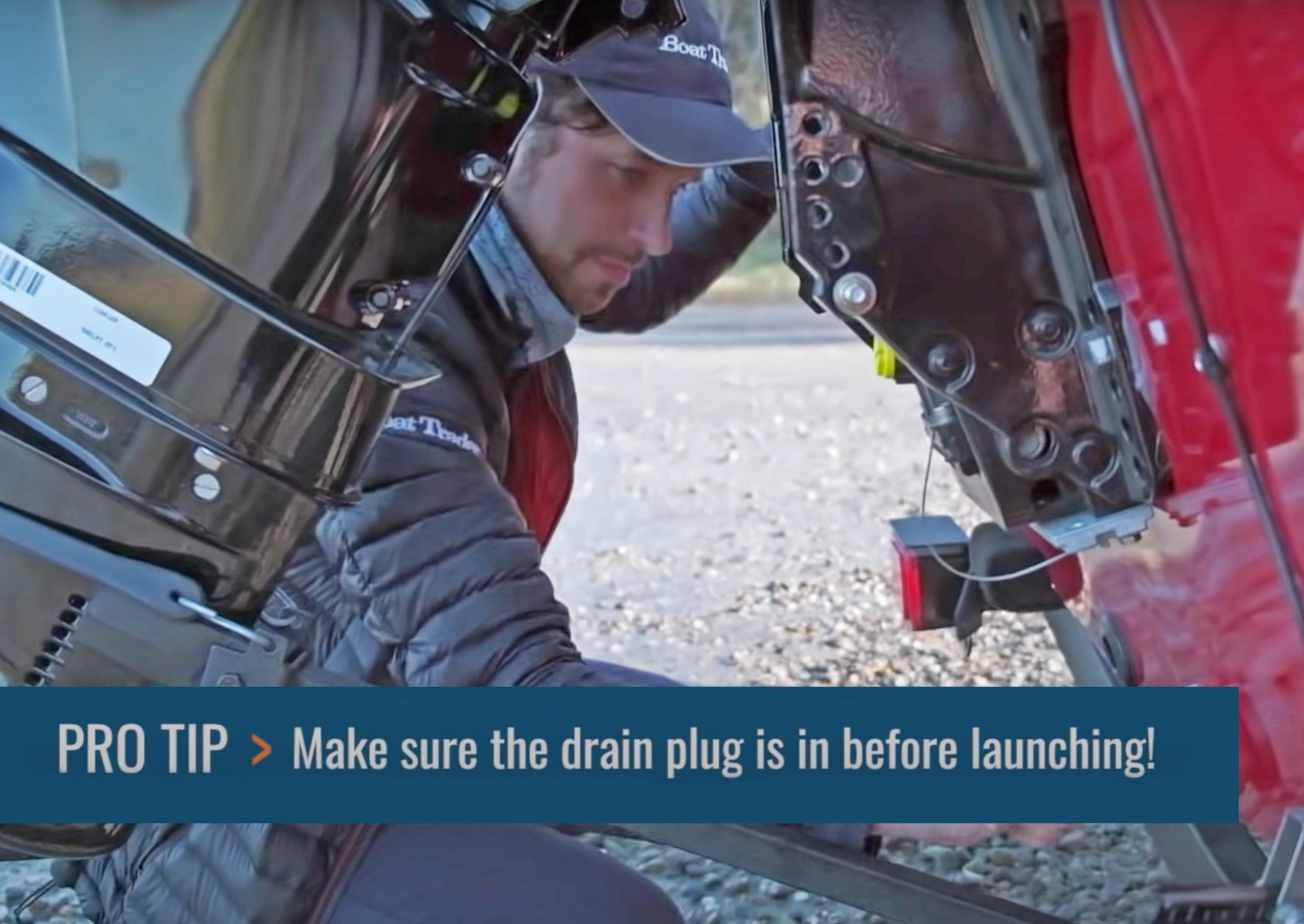 Ryan McVinney Launching Boat At Ramp In Stomping Grounds Episode