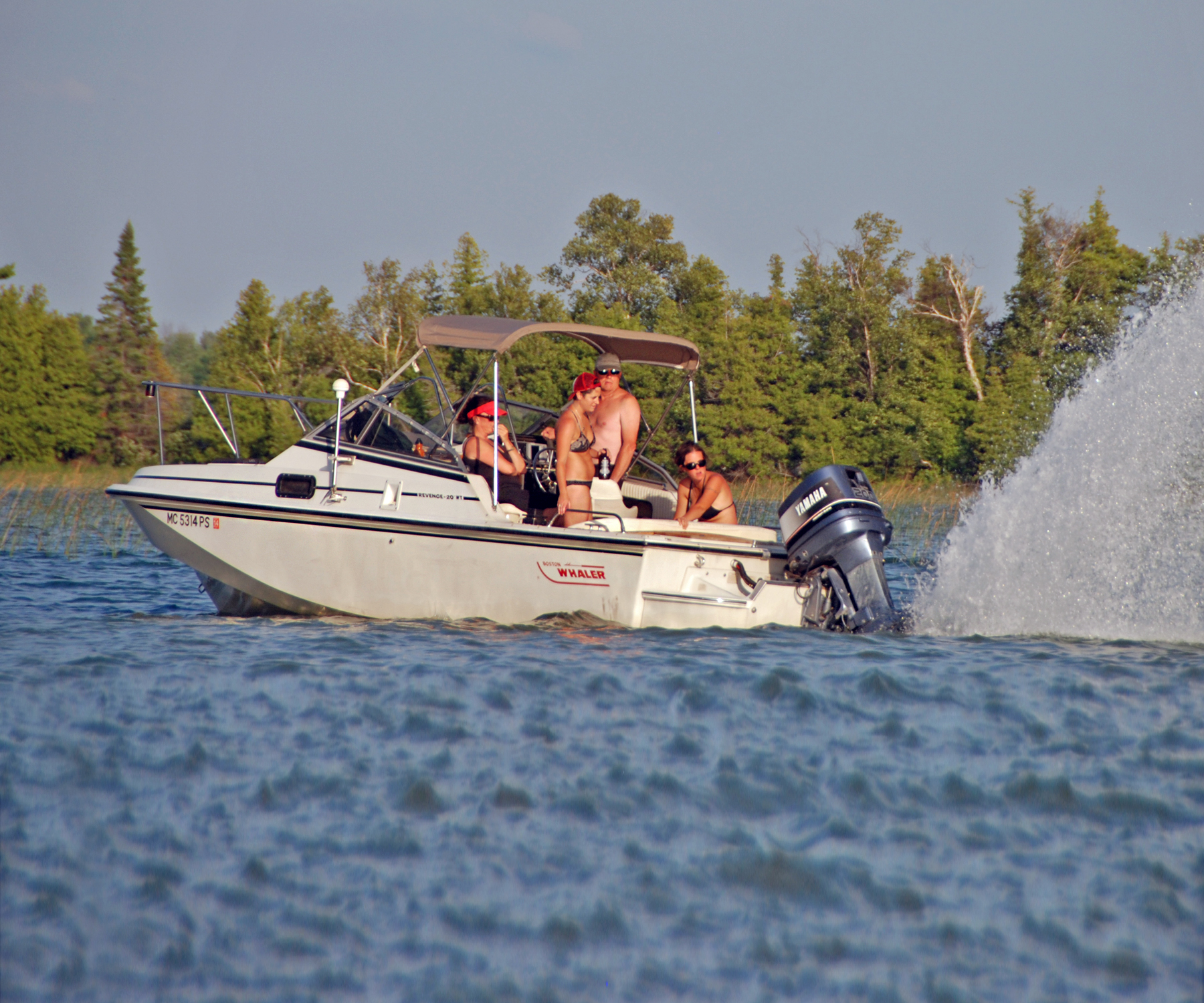 Boat Hitting Ground Bottoming Out