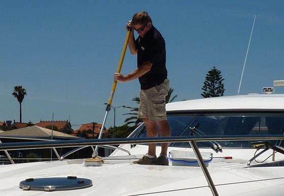 Boat Cleaning and Washing