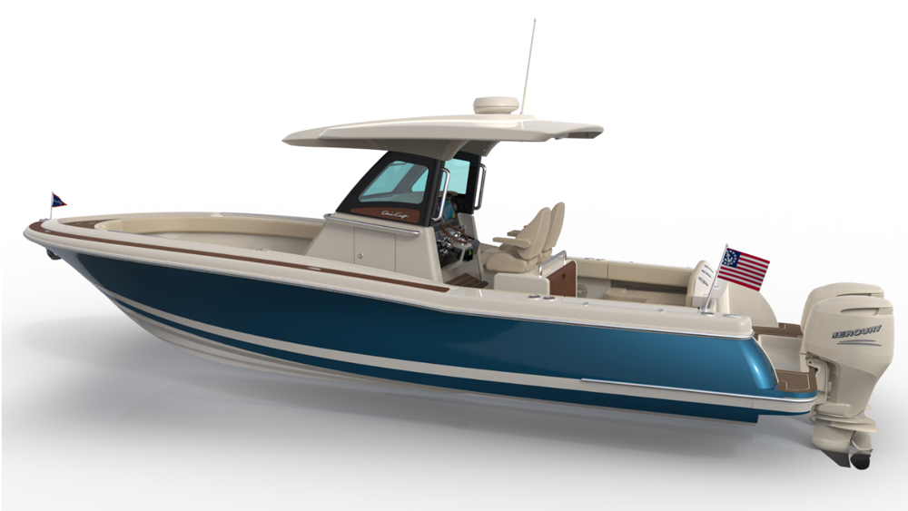 "Despite the name the 30 Pilothouse does not have what we commonly would call a true ""pilothouse,"" but is a center console with more extensive protection than Catalina models have traditionally provided."