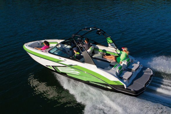 The 243 is Chaparral's top-of-the-chart model in a lineup of six jet boats, and there's a lot to like about it .