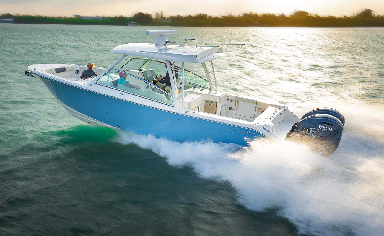 Cobia 330 DC. Photo by Cobia-Maverick Boats Group