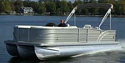 The Cypress Cay Cozumel 240 test boat ran at over 45 mph with a Mercury Verado 250.