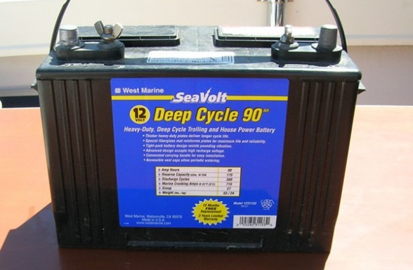 Working with marine 12-volt batteries is relatively safe, but there are precautions and habits to pay attention to.