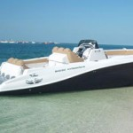 The Quad Engine Deep Impact Power Boat – Four engines and up to 80 miles per hour