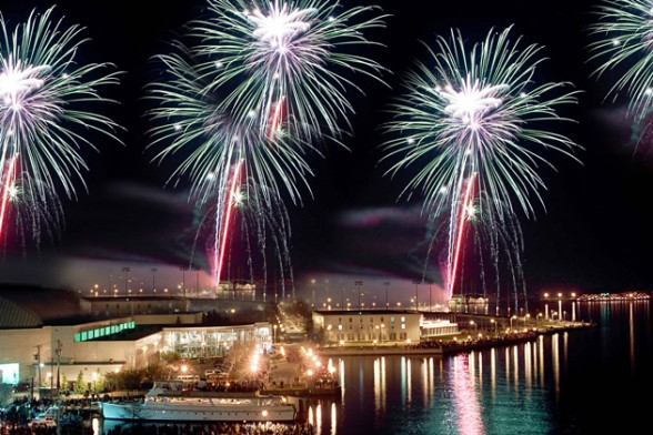 Throw out your anchor and enjoy the show this Fourth of July as the fireworks light up the sky above your favorite body of water.