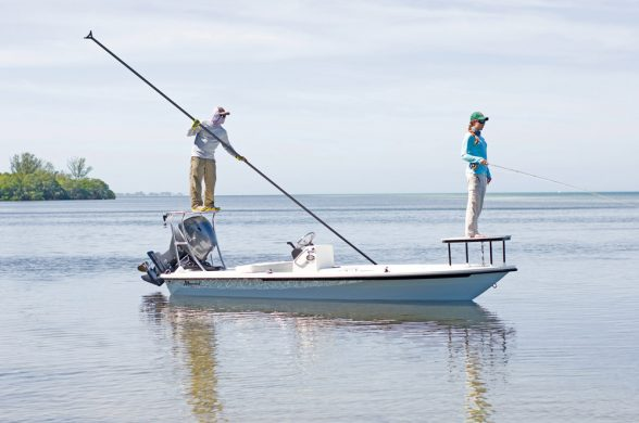 Flats boats are highly-specialized fishing machines.