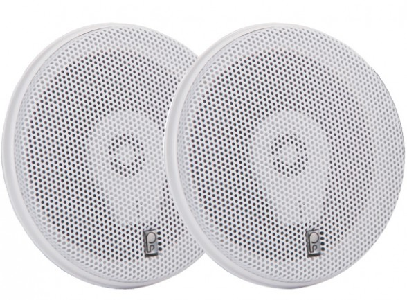Flush-mount speakers are by far the most popular choice for boaters. Photo courtesy of Poly Planar.