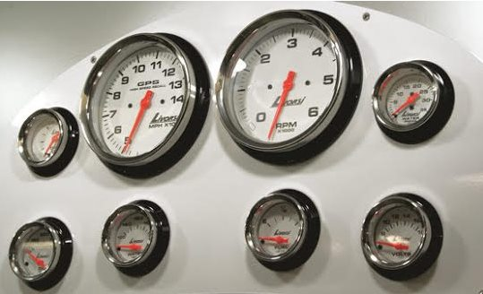 If you're fixing up an old boat, think about replacing all the gauges at once. It's a chore, but it will mean an upgrade in the boat's looks and value.