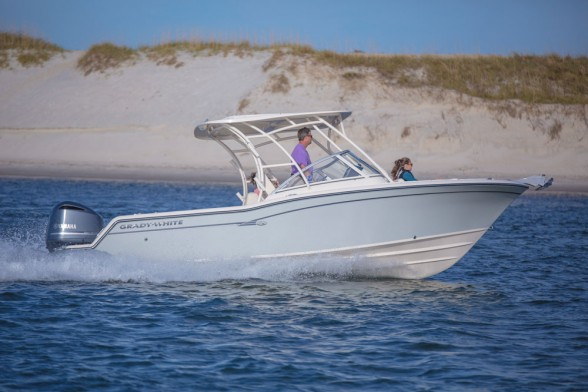 Without question, the greatest strength of the dual console design is versatility. You can use a boat like this for fishing one day, and family cruising the next.