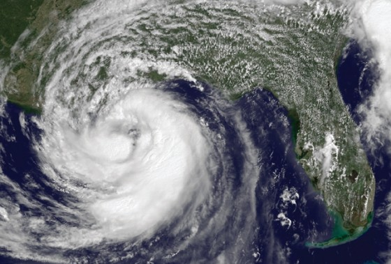 Hurricane Isaac approaches the Gulf Coast in 2012. There's little time left to prepare at this point. Photo courtesy of the National Hurricane Center.