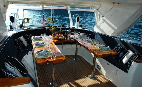 Include details about every feature on your boat including upgrades and equipment.