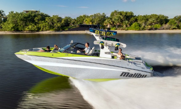 If there's an option or creature comfort that Malibu's flagship  M235 doesn't have, chances are you don't need it. Photo courtesy of Malibu.