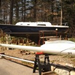 Boat Project Destroyed by Winter Storm