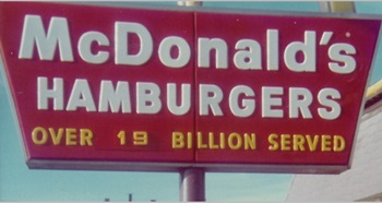 If that many burgers have been served, they must be really good!
