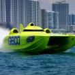 Fast boats are more expensive to insure than slower ones. Photo courtesy of Miss Geico Racing Team.