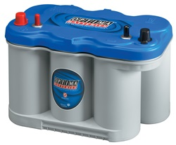There are all sorts of marine batteries, and each different type requires careful care. Learning which type you have on your boat is the first step to properly maintaining them. Photo courtesy of Optima Batteries.